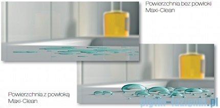 Roca Urban Umywalka nablatowa 40x40cm z grafiką New York powłoka Maxi Clean A32765U00M