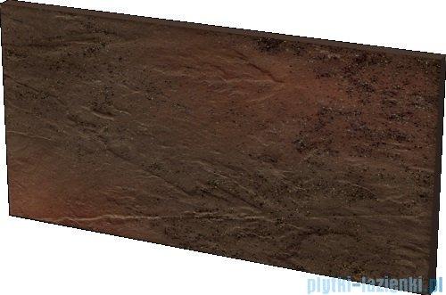 Paradyż Semir brown klinkier podstopnica 14,8x30