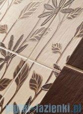 Domino Bali brąz listwa ścienna 7,4x36