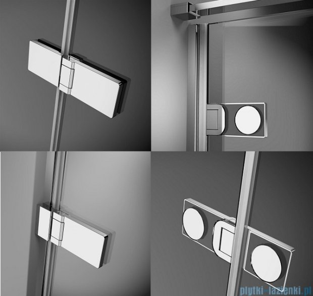 Radaway Arta Pnd parawan nawannowy 130cm prawy szkło przejrzyste 210213-01R