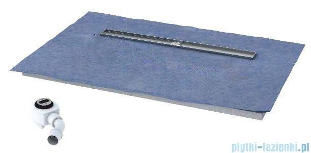 Schedpol brodzik posadzkowy podpłytkowy ruszt Circle 120x80x5cm 10.008/OLDB/CE