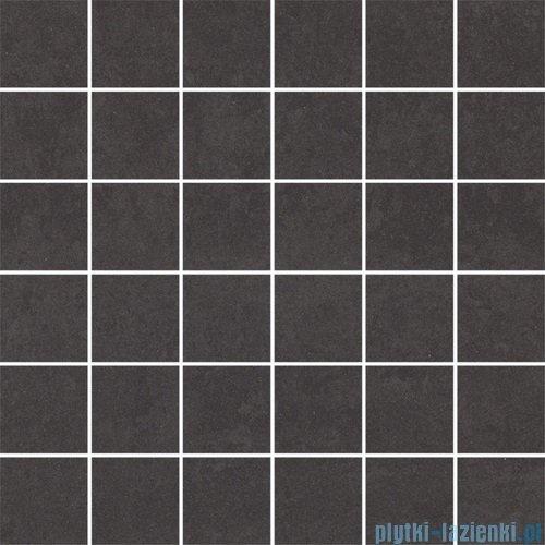 Paradyż Doblo nero satyna mozaika 29,8x29,8
