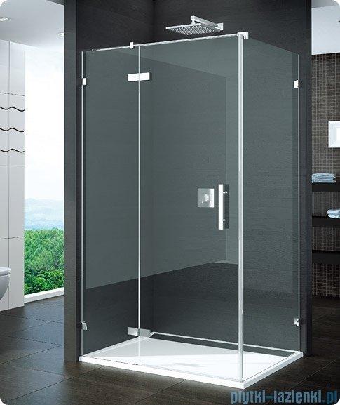 SanSwiss Pur PURDT2 Ścianka boczna 30-100cm profil chrom szkło Durlux 200 PURDT2SM21022