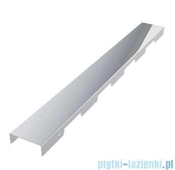 Schedpol brodzik posadzkowy podpłytkowy ruszt Steel 100x80x5cm 10.007/OLKB/SL