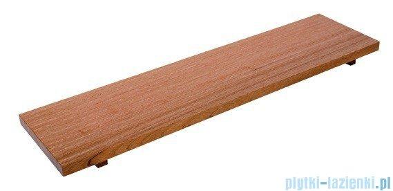 Sanplast półka do wanien 75x20cm meranti 661-A0017-19