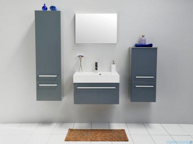 Antado Variete szafka z umywalką, wisząca 60x50x33 szary połysk FM-442/6GT-K917 + UNA-600