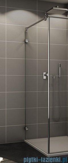 Sanswiss Melia MET3 Ścianka lewa z uchwytami i profilem 90-140/do 200cm krople MET3AGSM21044