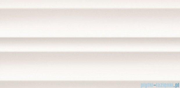 Tubądzin All in white 5 struktura płytka ścienna 29,8x59,8