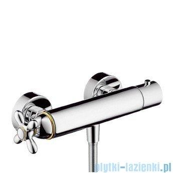 Hansgrohe Axor Carlton Bateria termostatowa natynkowa natryskowa złoty 17261090