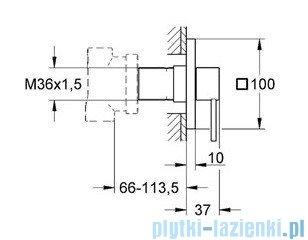 Grohe Allure przełącznik pięciodrożny chrom 19590000
