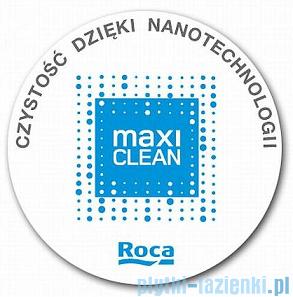Roca Hall Compacto Miska Wc podwieszana biała powłoka Maxi Clean A34662700M