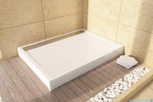 SanSwiss WIA Brodzik konglomeratowy prostokątny 90x120cm biały WIA901200404