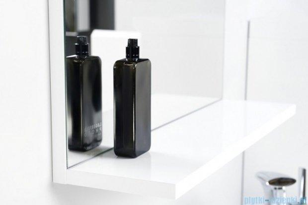 Antado Gabi lustro z półką 68x16cm biały połysk GBY-L70-WS