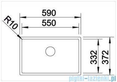 Blanco Claron 550-U Steamer System-Edition zlewozmywak  jedna komora stal szlachetna polerowana  bez k. aut.  516990