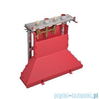 Hansgrohe Axor Strack Zestaw podstawowy do baterii 4-otworowej do montażu na cokole z płytek 14445180