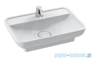 Cerastyle Lal umywalka 59,5x42cm wpuszczana / nablatowa 072700-u