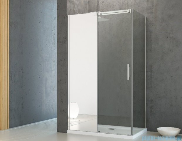 Radaway Espera DWJ Mirror Drzwi wnękowe przesuwne 120 lewe szkło przejrzyste 380112-71L