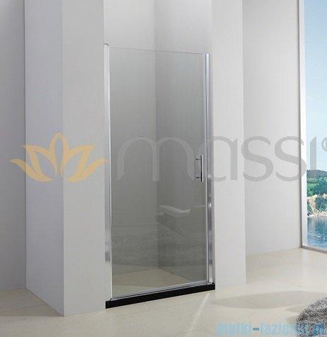 Massi Glasso drzwi prysznicowe 90x185cm przejrzyste MSKP-FA651-90