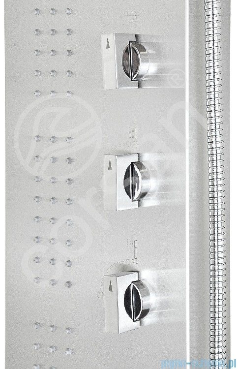 Corsan Amigo panel natryskowy z termostatem stal S-121T