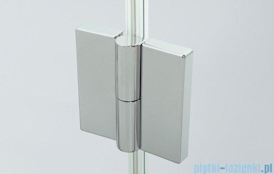 Sanplast kabina narożna prostokątna lewa przejrzysta KNDJ2L/AVIV-80x90 80x90x203 cm 600-084-0110-42-401