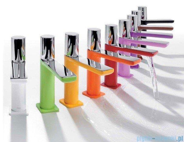 Tres Loft Colors Bateria umywalkowa z korkiem automatycznym kolor biały 200.103.02.BL.D