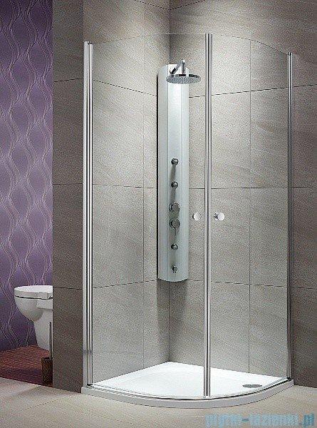 Eos PDD Radaway Kabina prysznicowa 90x90 szkło przejrzyste 37603-01-01N