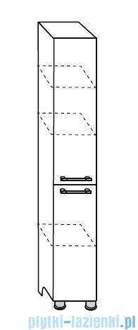 Antado Prima Słupek wysoki, stojący 30x31,4x180 wenge mat BFDM-175/1-77