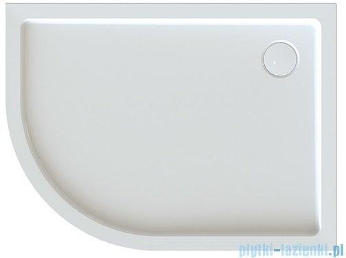 Sanplast Free Line brodziki asymetryczny BP-P/FREE 80x120x5cm+STB prawy 615-040-1790-01-000