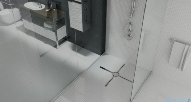Wiper Eye-drain A4 Massimo Odpływ prysznicowy 60 cm mat Eye-drainMASSIMOA4_600Mat