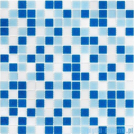 Dunin Q Series  mozaika szklana 32x32 qmx blue