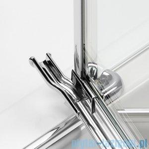 New Trendy Eleganta kabina prysznicowa półokrągła 90x90cm prawa przejrzyste EXK-1003