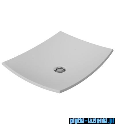Omnires umywalka nablatowa 50x40cm biała IbizaMarble+