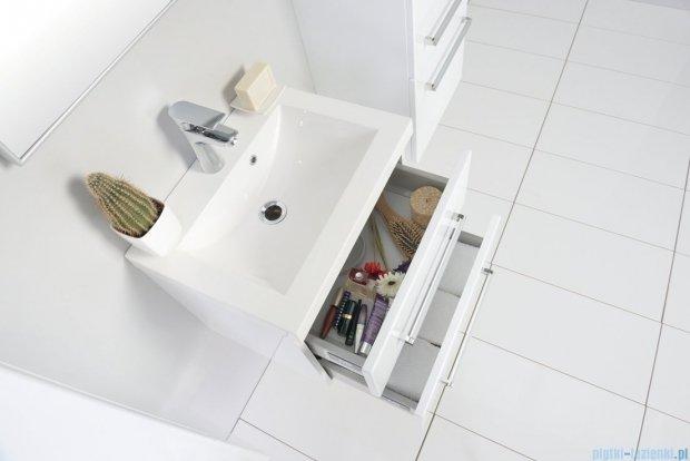 Antado Variete szafka z umywalką, wisząca z dwiema szufladami 50x39x40 biały połysk FM-C-442/5/2 + UMMC-500X390