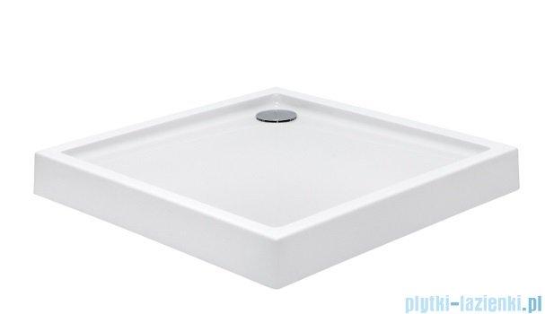 Roca Malaga Brodzik kwadratowy z obudową 80x80x13cm Biały Akryl A276254000