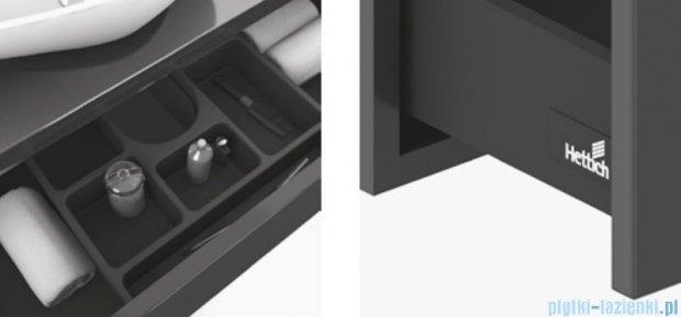 New Trendy Verde szafka pod blat 90 antracyt połysk ML-SZ190
