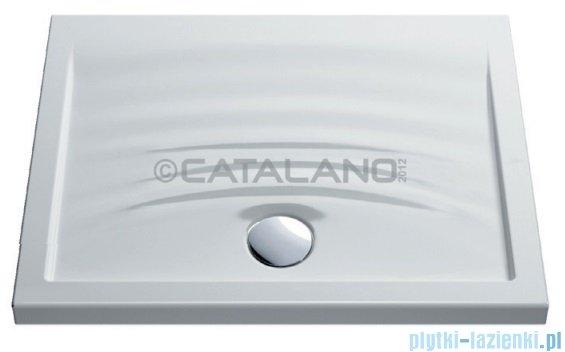 Catalano Impronta 100 brodzik ceramiczny 100x80 cm biały 180100IM00