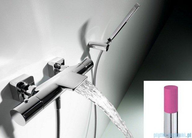 Tres Loft Colors Bateria termostatyczna wannowa różowy 200.174.09.FU