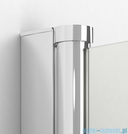 New Trendy New Soleo Plus 100x195 cm drzwi wnękowe wspornik skośnym przejrzyste D-0139A/D-0094B