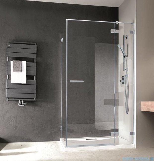 Radaway Euphoria KDJ Kabina prysznicowa 110x120 prawa szkło przejrzyste 383041-01R/383054-01