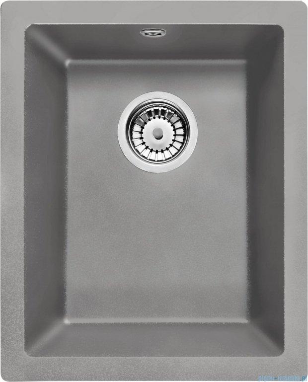 Deante Corda komora podblatowa 46x38 cm szary metalik ZQA S10B