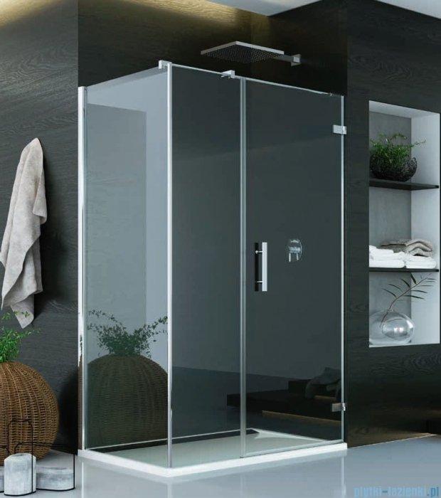 SanSwiss Pur PU31 Kabina prysznicowa 140x120cm prawa szkło przejrzyste PU31PD1401007/PUDT3P1201007