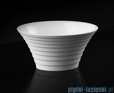 Marmorin Cascada umywalka nablatowa bez otworu 43x36 biała P724044020010