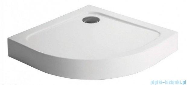 Polimat Standard 1 brodzik półokrągły kompaktowy 90x90x13 cm 00841