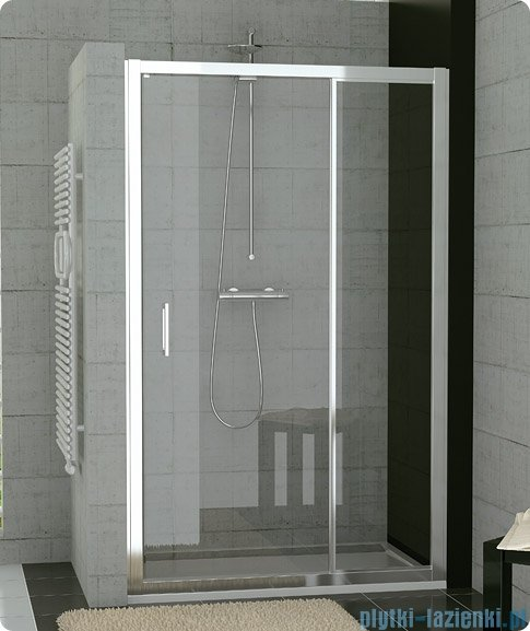 SanSwiss Top-Line Ted Drzwi 1-częściowe 80cm profil biały TED08000407