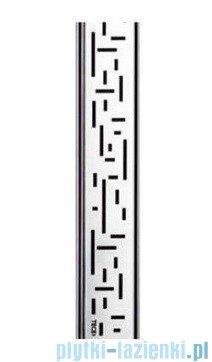 Tece Ruszt prosty Lines ze stali nierdzewnej Tecedrainline 70 cm stal szczotkowana 6.007.21