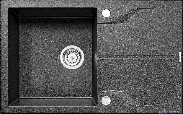 Deante Andante zlewozmywak 1-komorowy z ociekaczem 78x49 cm grafitowy ZQN 2113