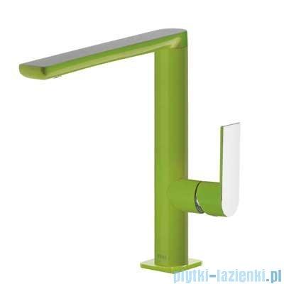 Tres Loft Colors Bateria umywalkowa z korkiem automatycznym kolor zielony 200.205.02.VE.D