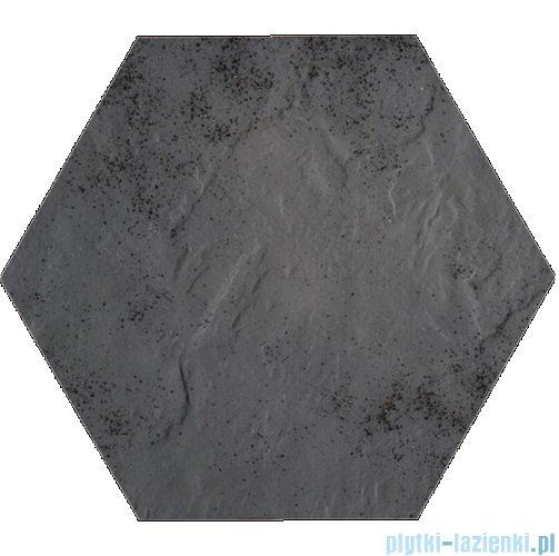 Paradyż Semir grafit klinkier heksagon 26x26