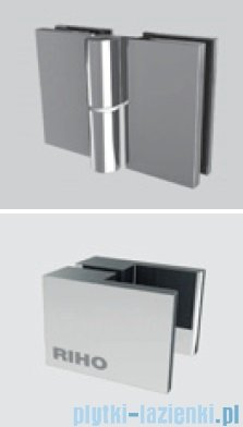 Riho Scandic Lift M104 drzwi prysznicowe 100x200 cm LEWE GX0070201