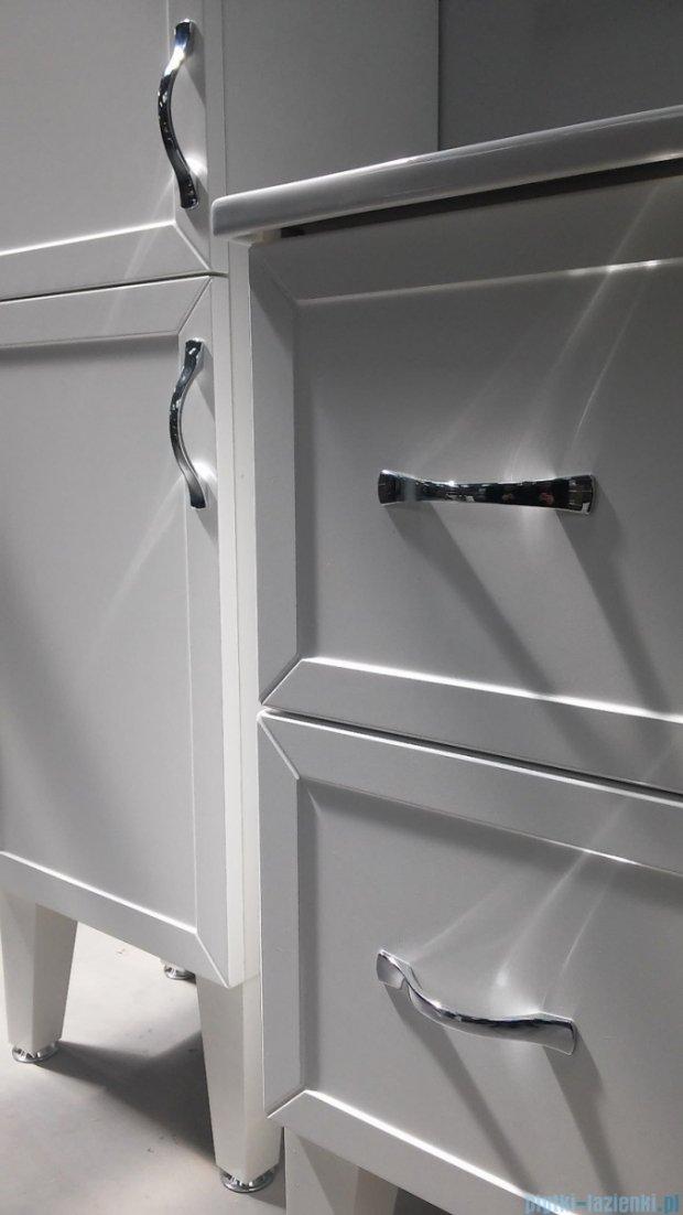 Antado Rustic szafka podumywalkowa 2 szuflady 60x38x62 biała RST-140/6GT-14